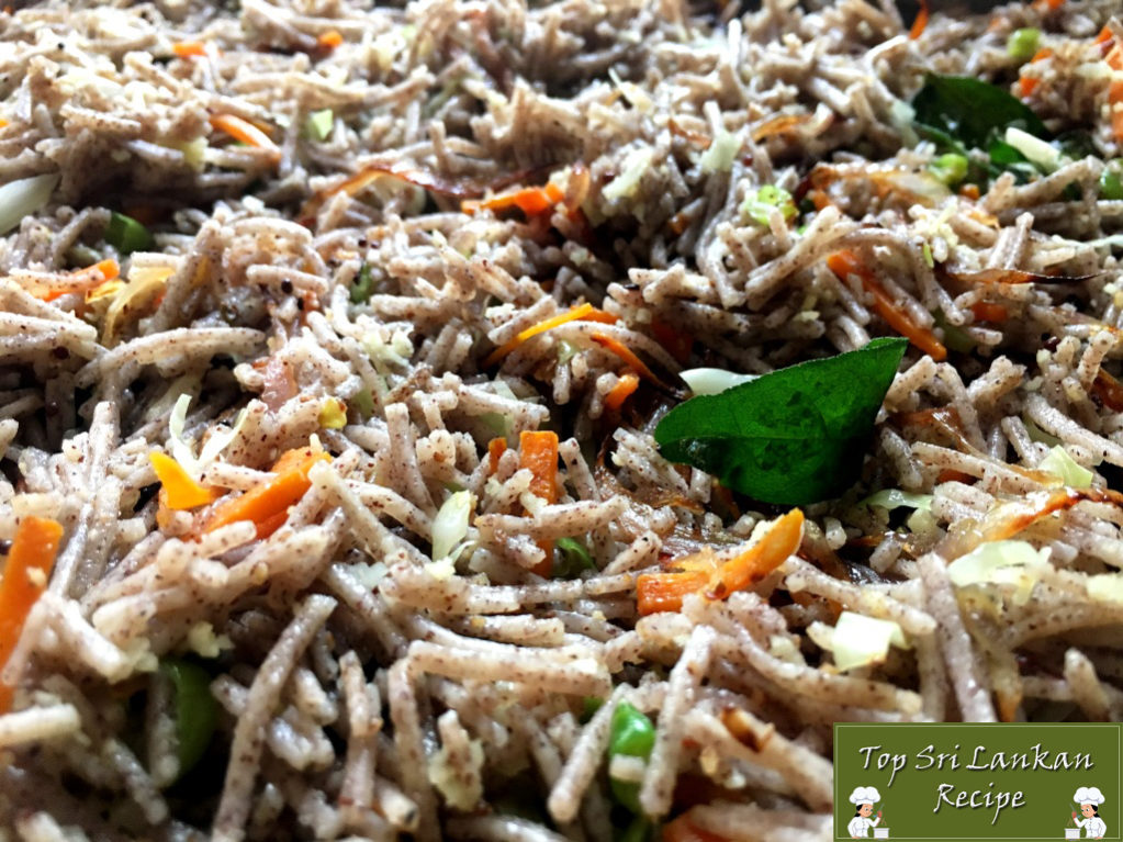 Vegetable Fried Noodles Recipe With Sri Lankan Kurakkan Or Finger Millet