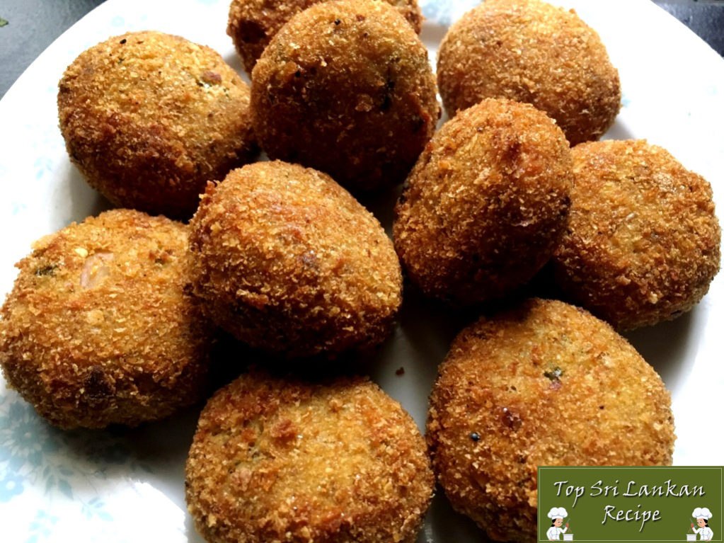 Sri Lankan Style Fish Cutlet | Fish Cutlet Recipe With Pictures