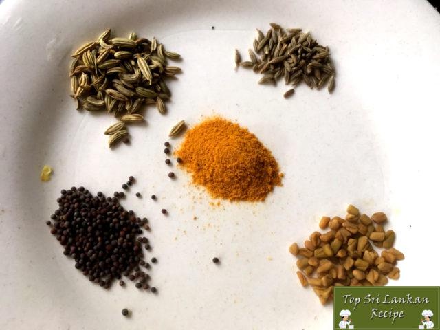 Sri Lankan Style Fish Curry Recipe   White Mullet Meen Kulambu