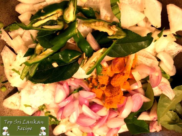 Radish Curry Sri Lankan Recipe | Mullangi Curry