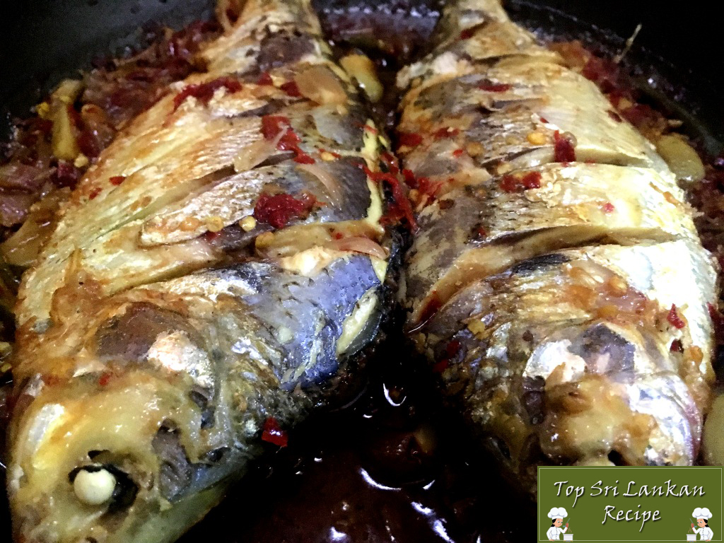 Sri Lankan Fish Curry Without Coconut Milk | Meen Theeyal Recipe