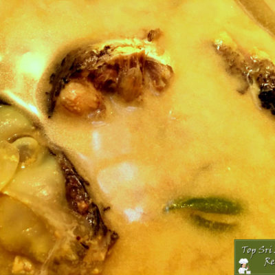 Sri Lankan Fish Sothi Recipe With Mango | White Mullet Meen Sothi