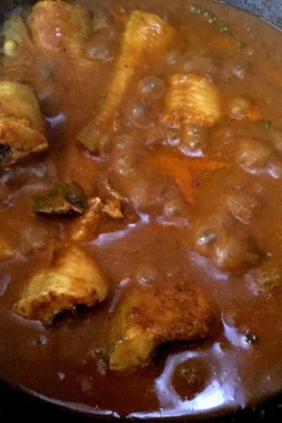 How To Make Sri Lankan Fish Curry | Aracha Kuzhambu Lady Fish