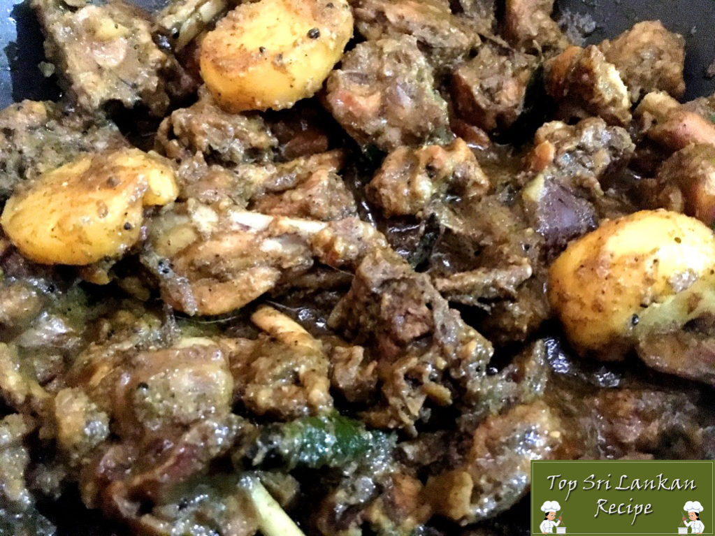 Easy Chicken Stew With Potatoes | Sri Lankan Homemade Recipe