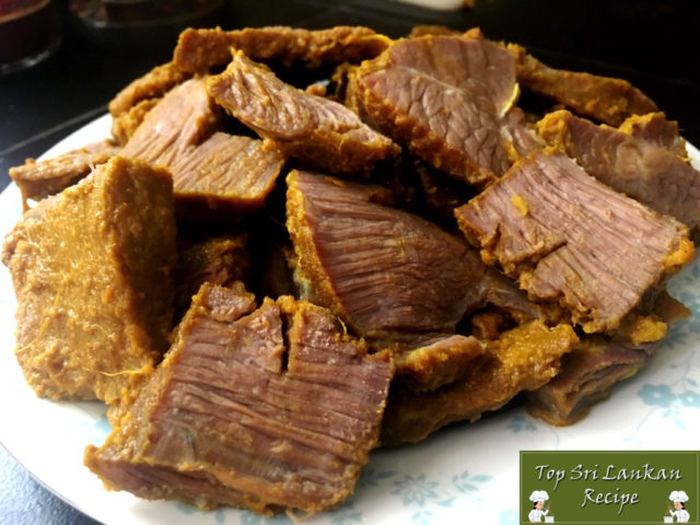 Devilled Beef Sri Lankan Recipe | How To Make Beef Devil Fry