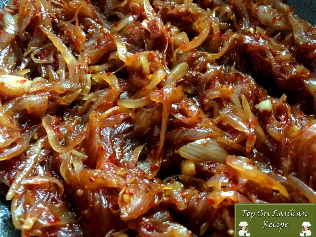 How To Make Seeni Sambol Sri Lankan Style (Quick And Easy)