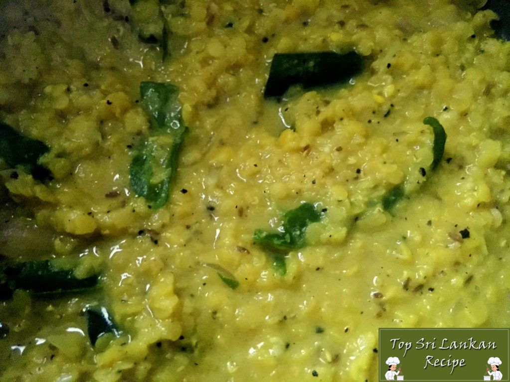 Simple Dal Curry Recipe | Easy Dhal For Rice | Parippu Curry