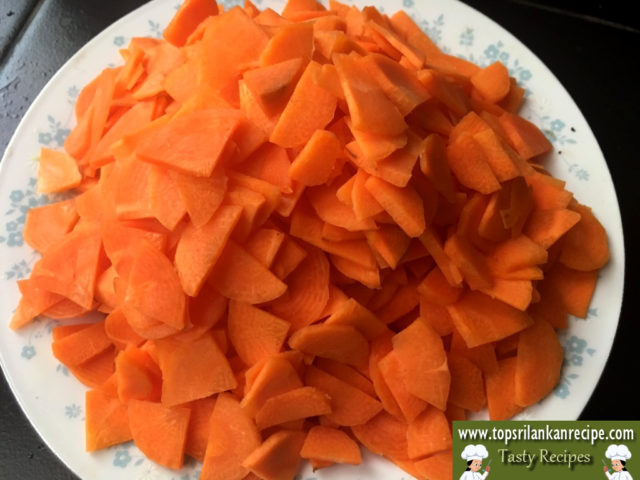 Easy Carrot Curry Recipe For Rice With Coconut Milk Sri Lanka