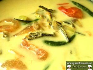 Fish Curry Without Tamarind And Chili Powder (Sprat Fish Sothi With Tomatoes)