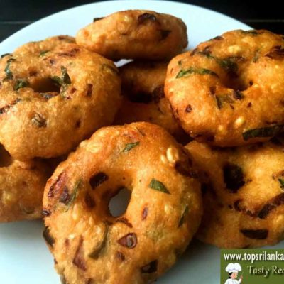 How To Make Ulundu Vadai Recipe With Pictures (Best & Soft)